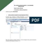 MICHAEL SEDANO ESCOBAR Informe Arquitectura de Computadoras y Sistemas Operativos