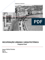 Recuperação Arquitectónica - Trabalho Final de Kahina Ferreira
