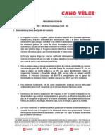 19 11 13 PROGRAMA ECOCASA - KfW – BID (Clean Technology Fund) - SHF