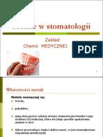 Metale w Stomatologii STOM 2012