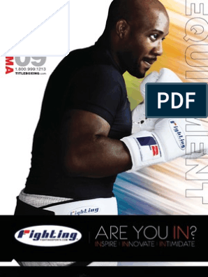 TITLE Boxing/MMA Summer 2009 Equipment Catalog | Glove