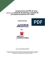 ANEXO-C3(Proyecciones de PBI y Demanda de Electricidad 2011-2022 Set11)