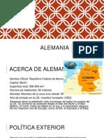 Alemania en El Contexto de UE y ALC