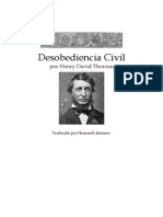 Henry Thoreau Desobediencia Civil