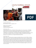 Christians Attacked by Buddhists- NCEASL