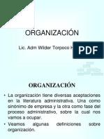 3.-Tipos de Organizacion