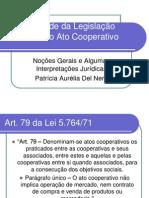 AplicabilidadedaLegislacaoTributariaaSociedadeCooperativa