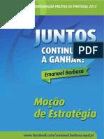 Moção de Estratégia - Emanuel Barbosa
