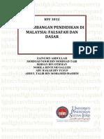 - Perkembangan Pendidikan Di Malaysia Falsafah Dan Dasar