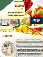Tulburări ale comportamentului alimentar