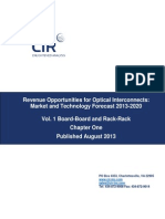 Chapter from CIR Report, from  REVENUE OPPORTUNITIES FOR OPTICAL INTERCONNECTS