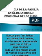 cia de La Familia en El Desarrolloemocional