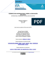Terminología Internacional Sobre Educación Inclusiva