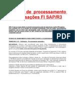 Manual de processamento de Transações FI SAPR3.doc