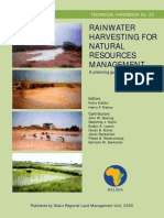 TH22 Rainwater Harvesting