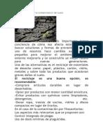 Formas de prevenir la contaminación del suelo