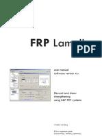 FRP Lamella ACI User Manual