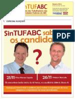 Boletim SinTUFABC 10 (19 de novembro de 2013)