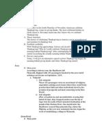 Imformative Speech Outline