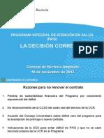 CONSEJO DE RECTORÍA AMPLIADO 18-11-13