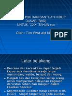 2. Pelatihan p3k Dan Bantuan Hidup Dasar (Bhd