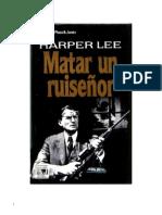 Lee, Harper - Matar Un Ruisenor