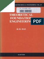 Theoretical Foundation Engineering, Braja M. Das