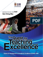 The Quest for Teaching Excellence
