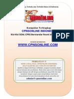 2.3 Proses Penyusunan Kisi-kisi Soal Cpns Oleh Konsorsium Universitas