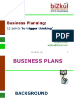 Business Planning - 12 Points