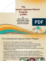 the  Comprehensive Agrarian Reform Program (CARP)