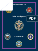 Joint Publication 2-0 Joint Intelligence (2013) uploaded by Richard J. Campbell