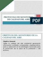 Protocolo de Monitoreo de Calidad Del Aire