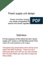 Power Supply Unit Design