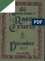 The American Rosae Crucis, December 1917