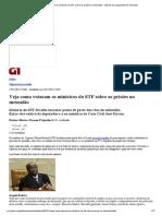G1 - Veja como votaram os ministros do STF sobre as prisões no mensalão - notícias em Julgamento do mensalão