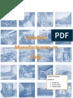 Surgimiento de La Industria Manufacturera