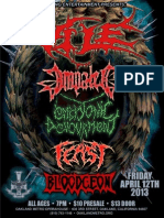 Show with VILE and IMPALED