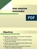 Temas selectos avanzados