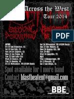 April tour 2014