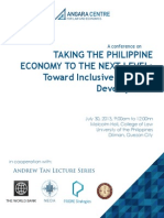 Angara Centre - Taking the Philippine Economy to the Next Level