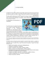 IMPORTANCIA DE LA NATACIÓN - A. Angueta