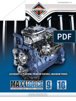 MaxxForce 9 Y 10 | Turbocharger | Fuel Injection