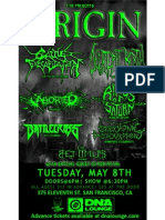 w/ Origin , Aborted , Cattle Decapitation