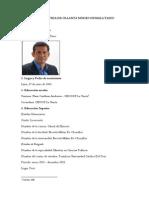 Hoja de Vida de Ollanta Moises Humala Tasso