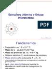 45279167 Estructura Atomica y Enlace Interatomico
