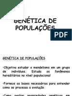 GenA©tica de populaA§Aµes