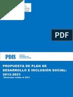 Propuesta de Plan de Desarrollo Provincial Concetado de La Provincia de Huancayo