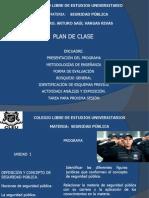PROGRAMA SEGURIDAD PÚBLICA 2013