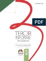 Gaceta Tercer Informe de Gobierno XX Ayuntamiento de Mexicali